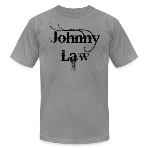 Johnny Law Tee in black - Men's Fine Jersey T-Shirt