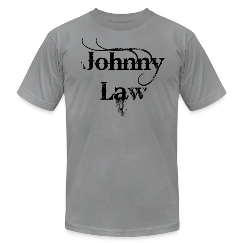 Johnny Law Tee in black - Men's  Jersey T-Shirt