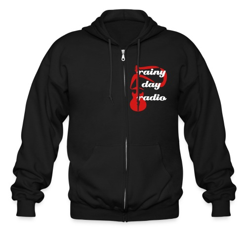Guitar Zip Up - Men's Zip Hoodie
