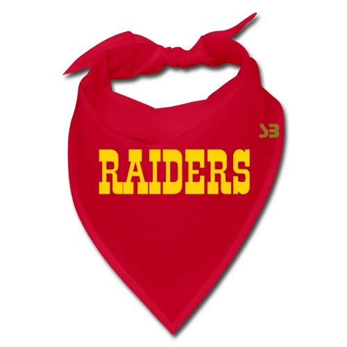 RAIDERS Bandana in Gold - Bandana