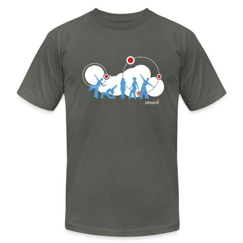 Playpoi Spinners American Apparel t-shirt, men's - Men's Fine Jersey T-Shirt