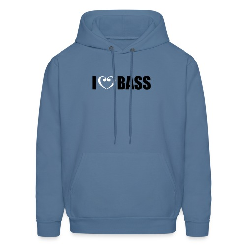 I Love Bass - Men's Hoodie