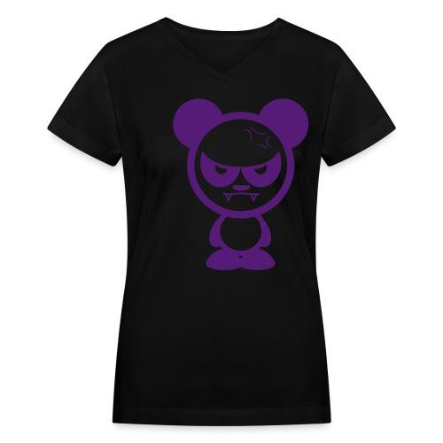 Big Bang Girl - Women's V-Neck T-Shirt