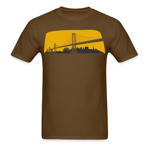 Bay Bridge - Men's T-Shirt
