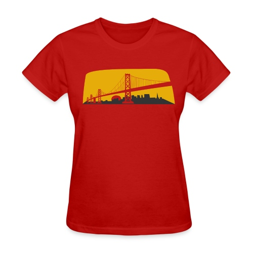 Bay Bridge - Women's T-Shirt