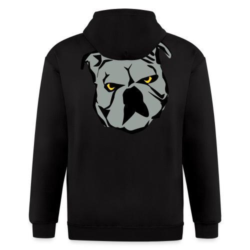 Bulldog Hoodie - Men's Zip Hoodie