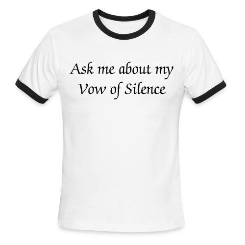Vow of Silence - Men's Ringer T-Shirt