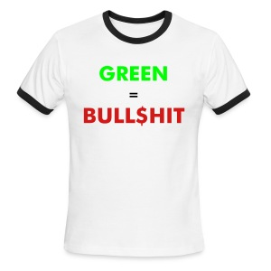 GreenBS - Men's Ringer T-Shirt