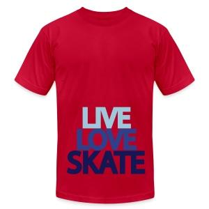 skate fan 2 - Men's Fine Jersey T-Shirt