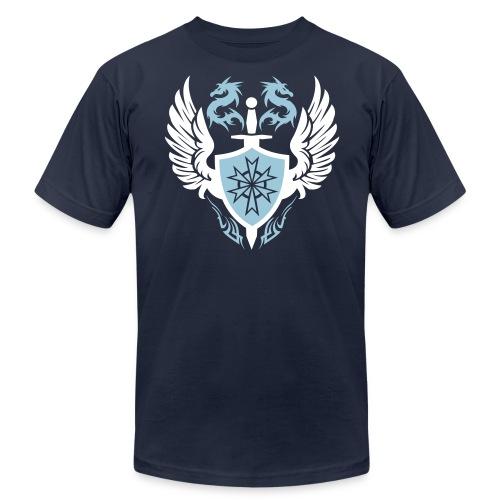 Dragon Crest Designer Tee - Men's Fine Jersey T-Shirt