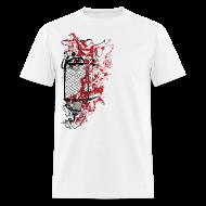 T-Shirts ~ Men's T-Shirt ~ Graffiti Fence Designer T-shirt