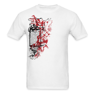 T-Shirts ~ Men's T-Shirt ~ Graffiti Fence Designer T-shirt
