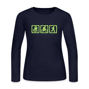 'They call it crazy' Tee - Women's Long Sleeve Jersey T-Shirt