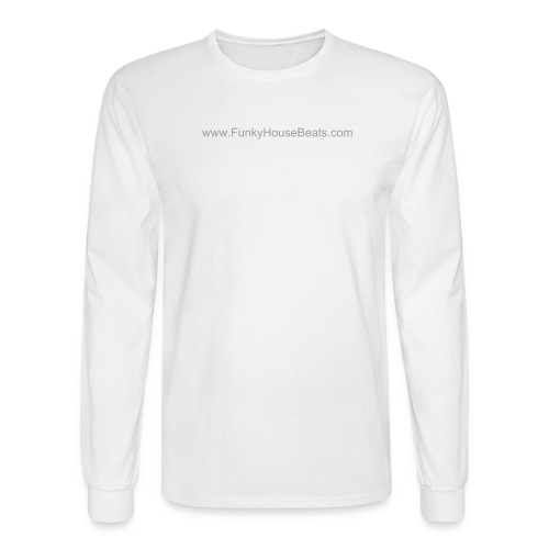 FunkyHouseBeats Long Sleeve Hanes Tee - Men's Long Sleeve T-Shirt