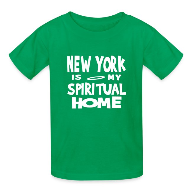 KKT 'New York, Spiritual Home' Kids' Tee, Black
