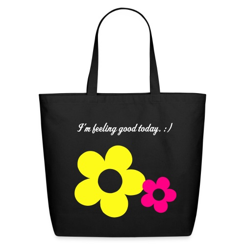 Feeling Good - Ladies Tote - Eco-Friendly Cotton Tote