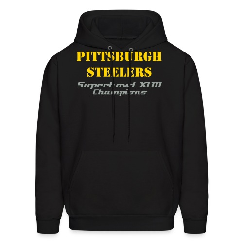 Pittsburgh Steelers Superbowl XLIII Champions Sweatshirt - Men's Hoodie
