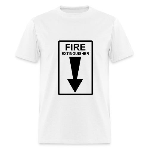 Fire Extinguisher - Men's T-Shirt