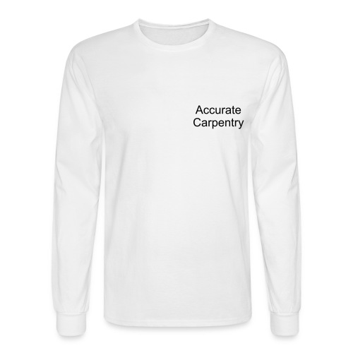 Accurate Construction - Men's Long Sleeve T-Shirt