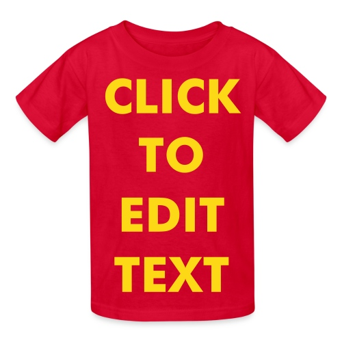 CLICK 'N EDIT Kids T-Shirt - Kids' T-Shirt