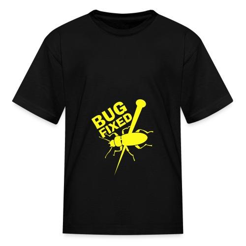Bug Fixed T-Shirt - Kids' T-Shirt