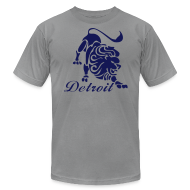 T-Shirts ~ Men's T-Shirt by American Apparel ~ Lions Vintage Men's American Apparel Tee