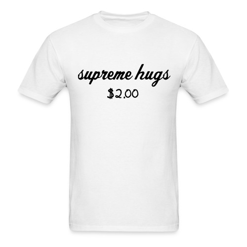 Supreme hugs - Men's T-Shirt