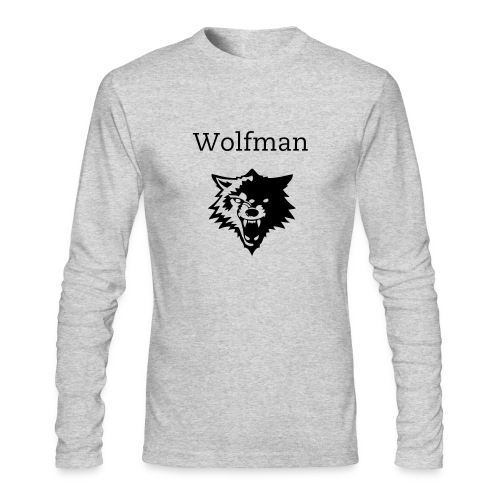 wolfman - Men's Long Sleeve T-Shirt by Next Level
