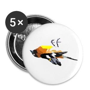 Dead Bird Pin - Small Buttons