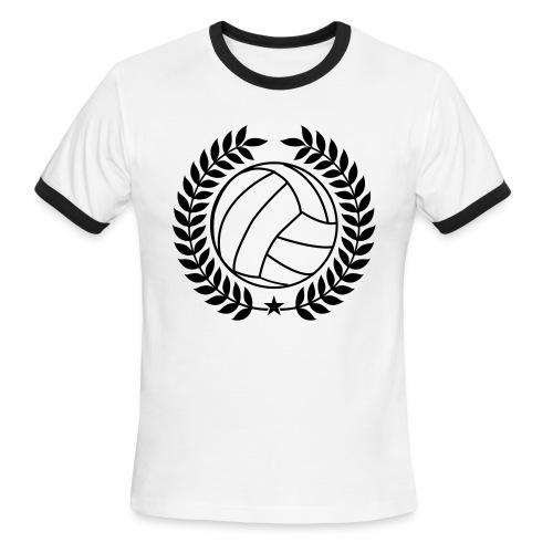 Voleyball Champion - Men's Ringer T-Shirt