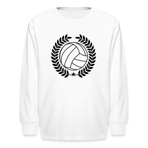Voleyball Champion - Kids' Long Sleeve T-Shirt