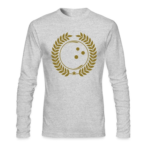Bowling League Champions - Men's Long Sleeve T-Shirt by Next Level