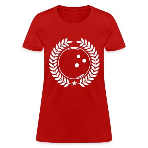 Bowling League Champions - Women's T-Shirt