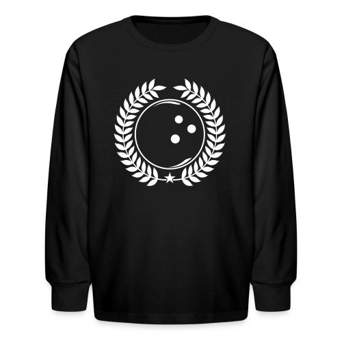 Bowling League Champions - Kids' Long Sleeve T-Shirt