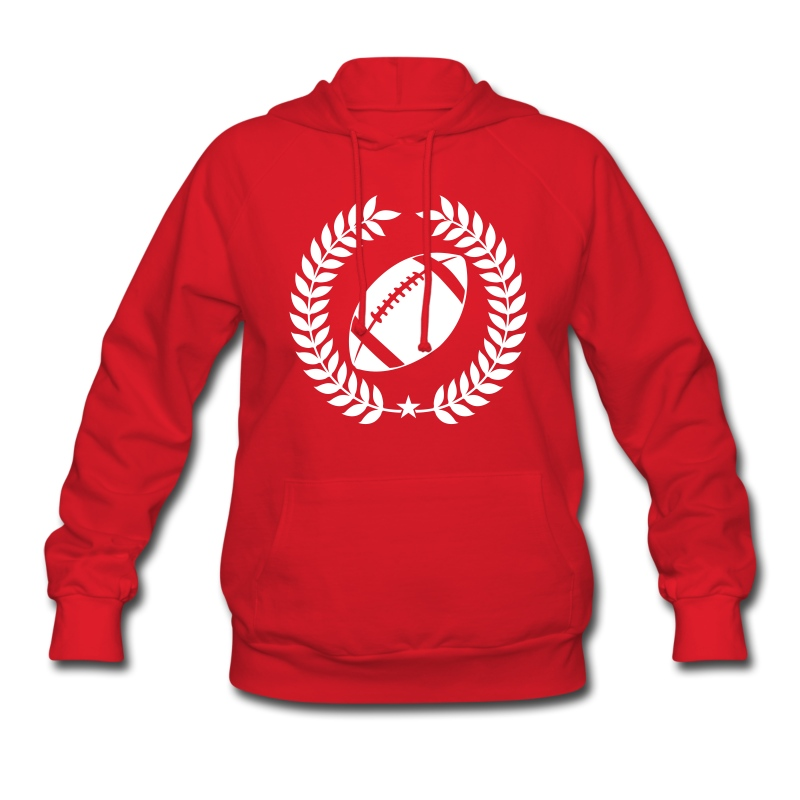Cool Football Graphic Hoodie | Spreadshirt