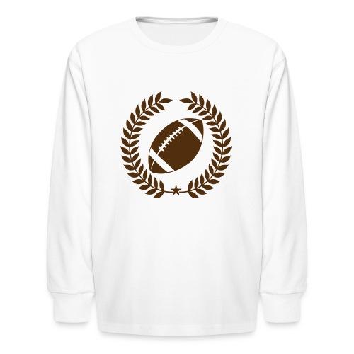 Varsity Football Champions - Kids' Long Sleeve T-Shirt