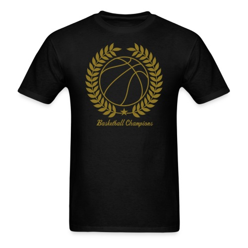 Reflective Gold Basketball Champions - Men's T-Shirt
