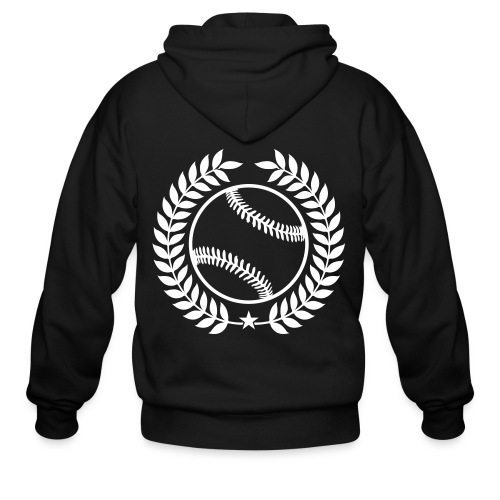 Custom Baseball Champions Jerseys - Men's Zip Hoodie
