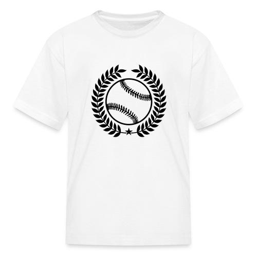 Custom Baseball Champions Jerseys - Kids' T-Shirt