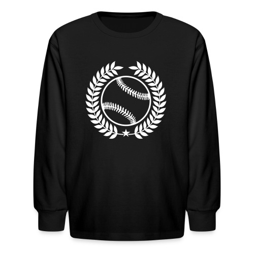 Custom Baseball Champions Jerseys - Kids' Long Sleeve T-Shirt