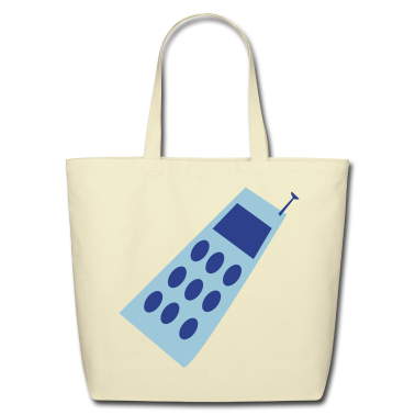 Creme cell phone symbol business Bags