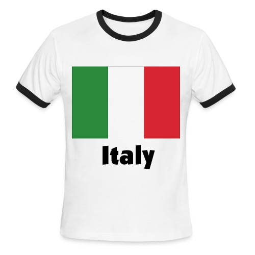 Italy - Men's Ringer T-Shirt