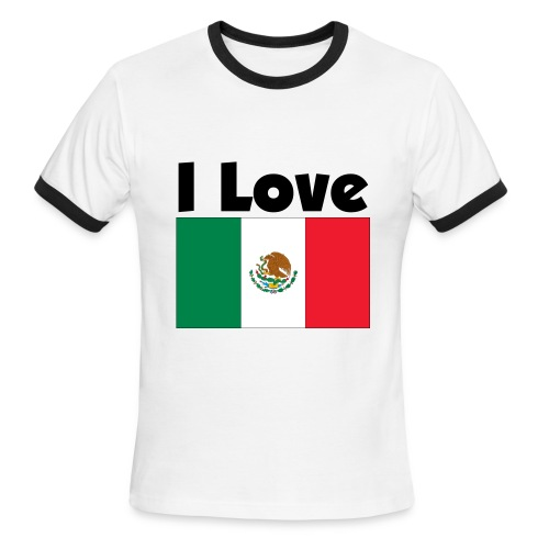Mexico - Men's Ringer T-Shirt