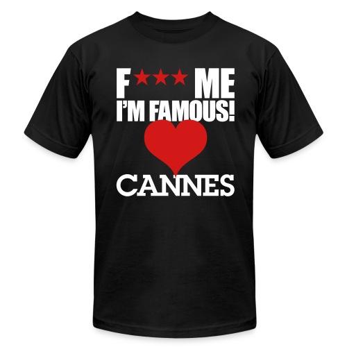 F*** Me I'm Famous CANNES - Men's Fine Jersey T-Shirt