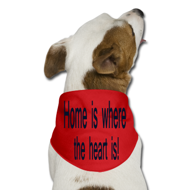 Hot pink 255556_3837015_home_is_where_the_heart_i Dog T-Shirts