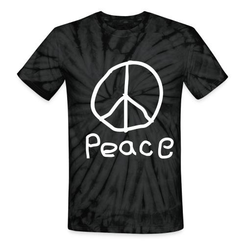 Peace  - Unisex Tie Dye T-Shirt