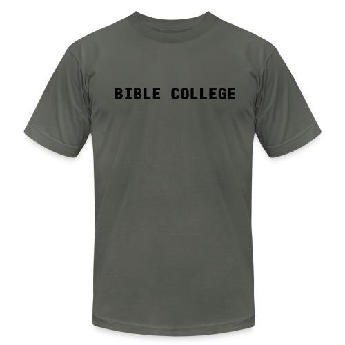 Bible College - Men's Fine Jersey T-Shirt