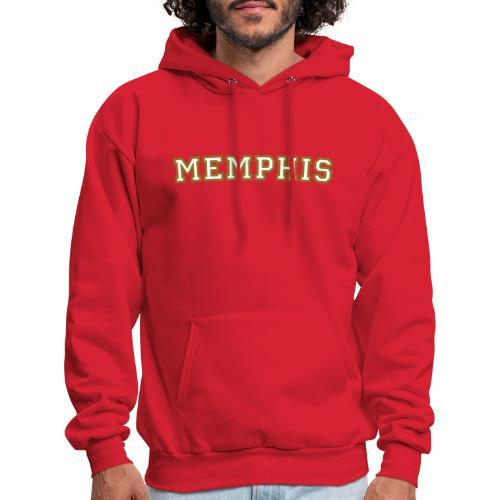 Memphis College White/Gold Hoodie - Men's Hoodie