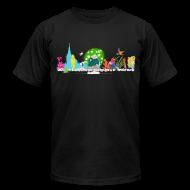 T-Shirts ~ Men's T-Shirt by American Apparel ~ Men's AA - Oscar Wilde Banner