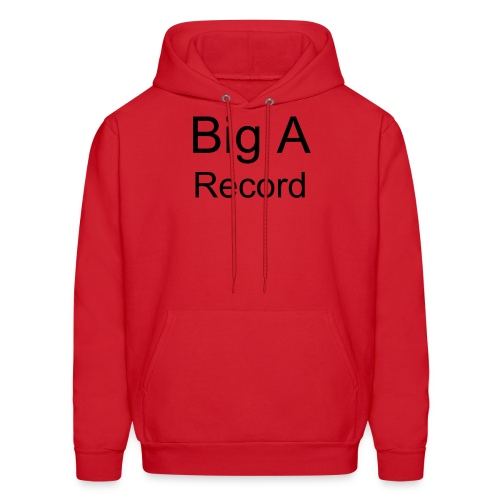 Big A record sweetshirt - Men's Hoodie